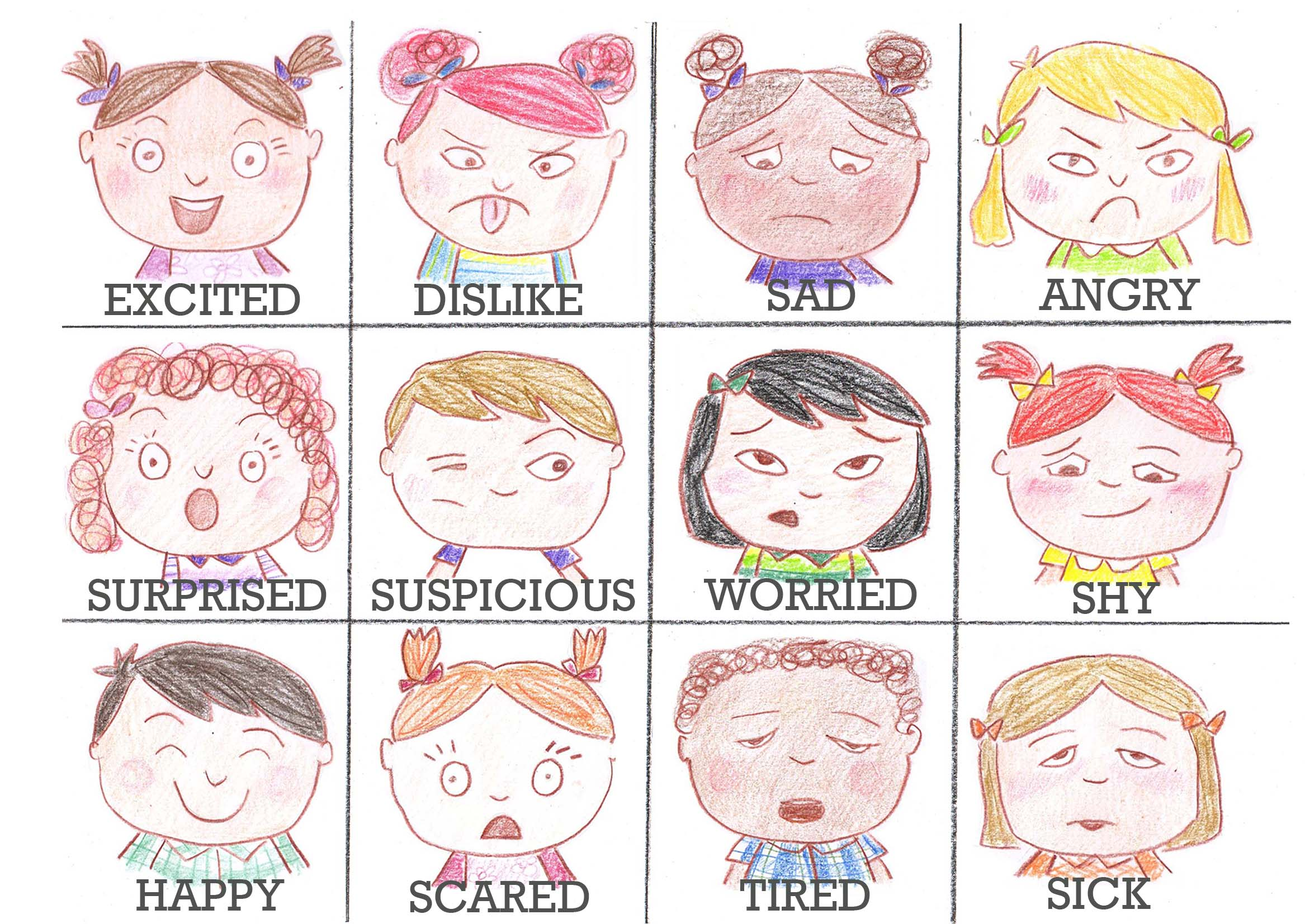 Emotions Memory Game | ARTiculation360