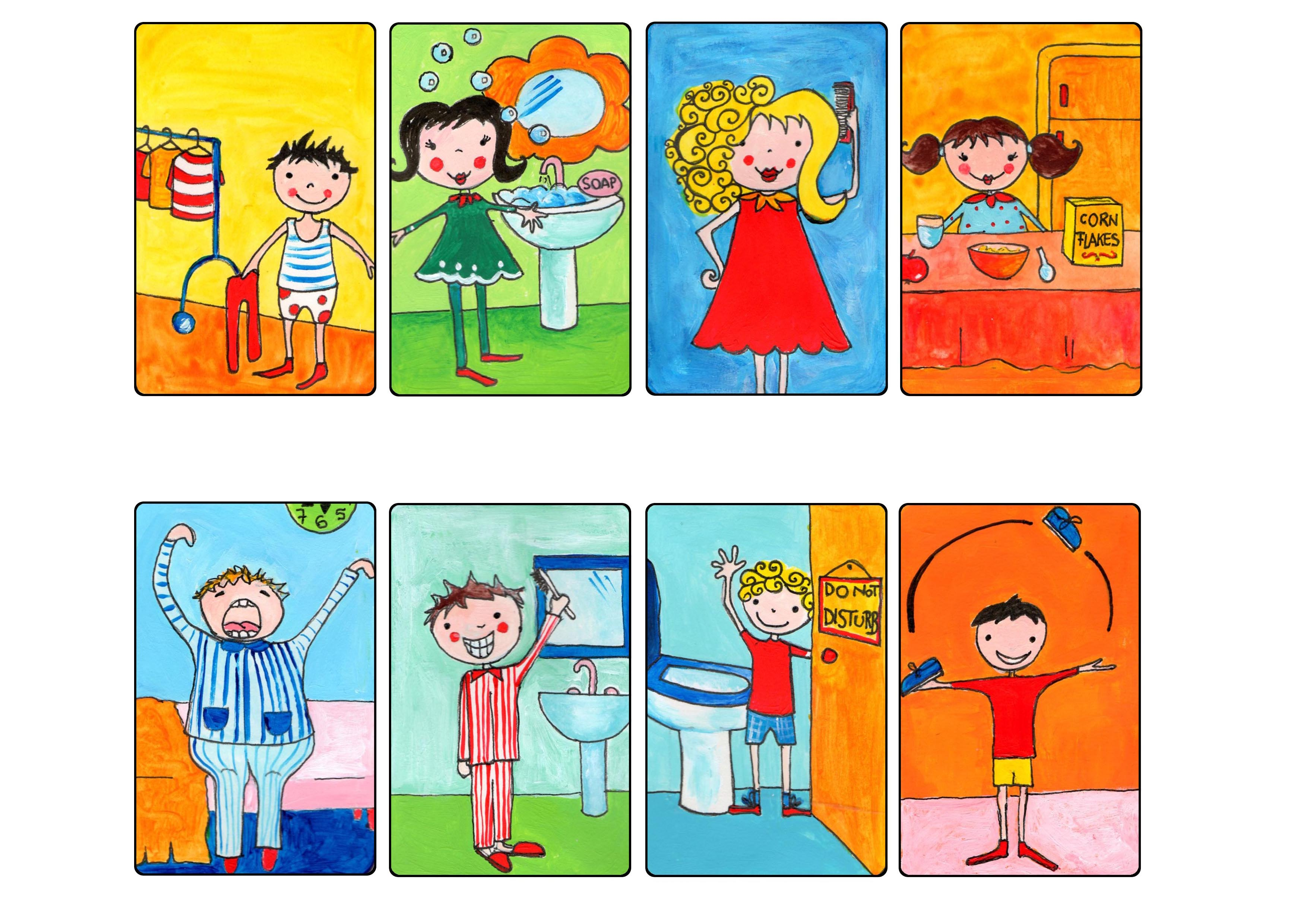 childs daily activities - HD3508×2480