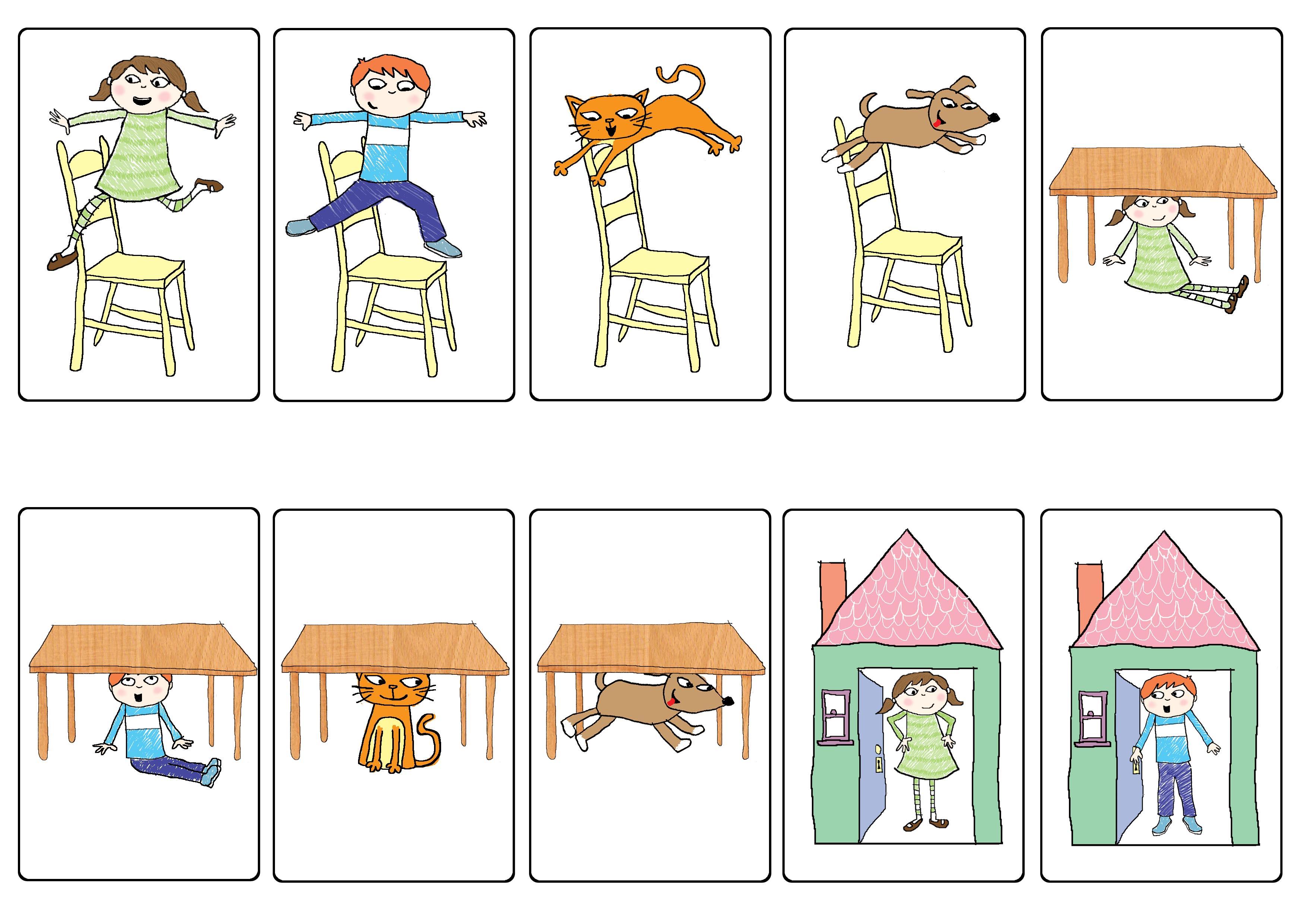 Worksheet Preposition For Kindergarten preposition bingo prepositions articulation wordpress com