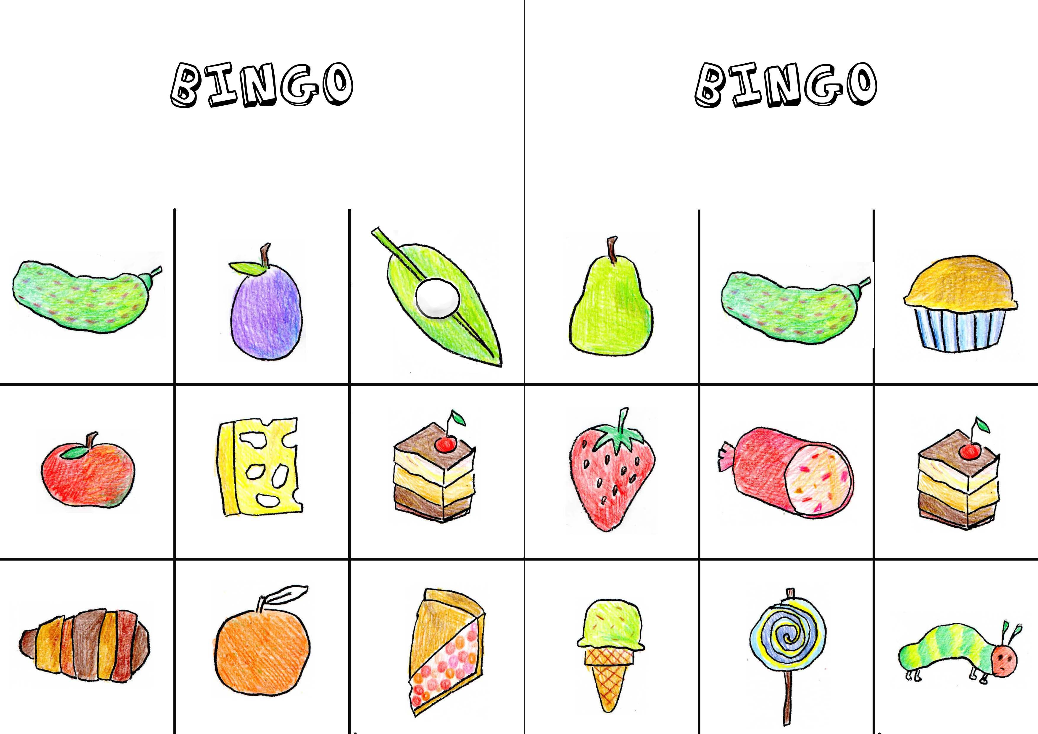 Worksheets Very Hungry Caterpillar Worksheets the very hungry caterpillar bingo articulation360 we