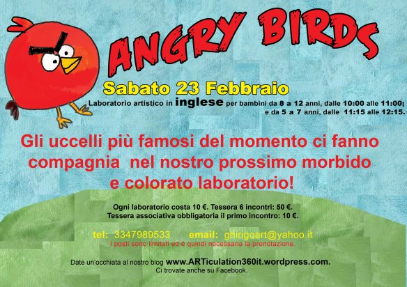Lab 4 angry birds