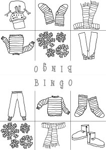 winter clothes bingo bw 3